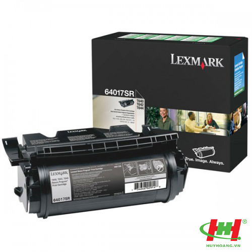 Mực in laser Lexmark T640 T642 T644 - 64017SR Toner Cartridge