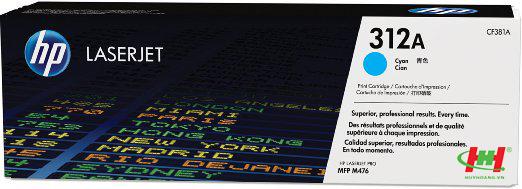 Mực in HP CF381A (HP 312A) Cyan
