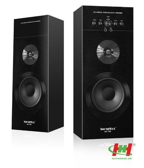 Loa SoundMax AK-700 2.0 Loa hỗ trợ karaoke