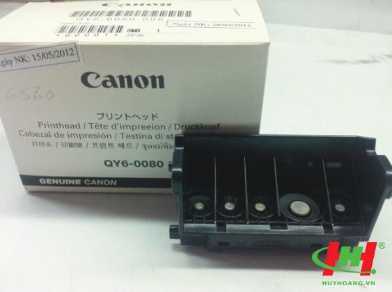 Đầu phun máy in Canon IX6560 IP4970 (QY6-0080-000)