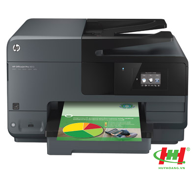 Máy in phun màu HP Officejet Pro 8610 e-AiO (Print,  Scan,  Copy,  Fax,  Web)