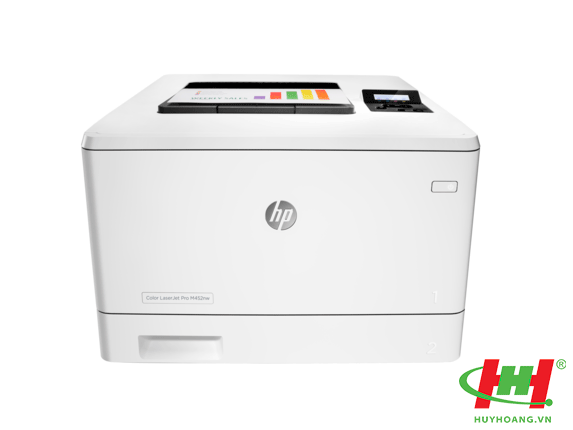 Máy in HP Color LaserJet Pro 400 M452NW (in qua mạng,  Wifi)