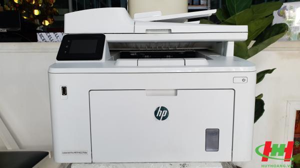 Máy in HP LaserJet Pro M227fdw cũ (In,  Scan,  Copy,  Fax,  in 2 mặt,  Lan,  wifi)