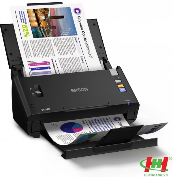 Máy scan Epson WorkForce DS-520 (quét 2 mặt)