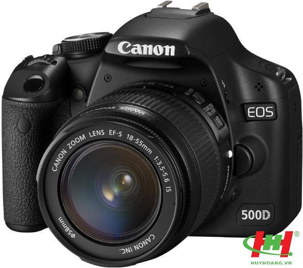 Máy chụp hình KTS chuyên nghiệp EOS 500D (EF S18-55IS)