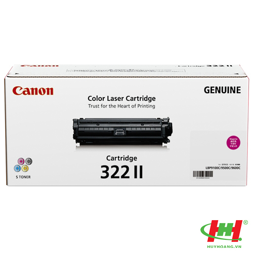 Mực in Canon Cartridge 322M Đỏ