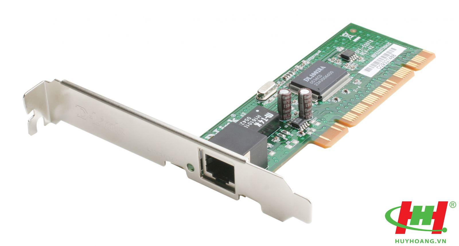 Card mạng dùng dây PCI DLink DFE-520TX