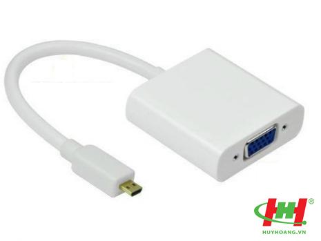 Cáp chuyển Micro HDMI sang VGA