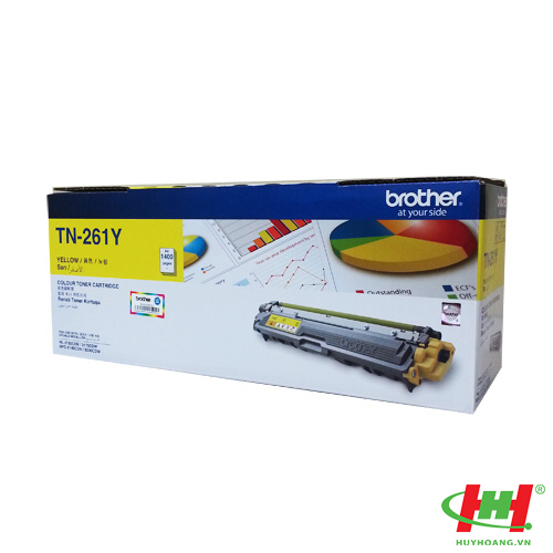 Mực in Brother TN-261 Yellow Toner Cartridge (TN-261Y)