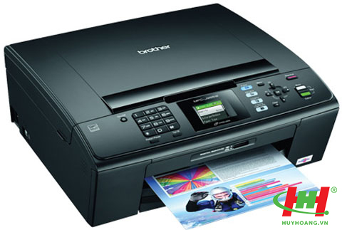 Máy Brother J265w in wifi,  scan,  copy,  fax,  PC fax - Thay thế sang J430W