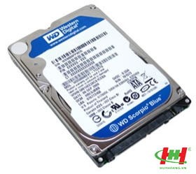 HDD Notebook Western 640GB Blue