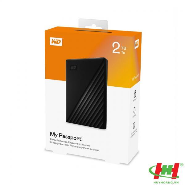 "Ổ cứng HDD WD My Passport 2TB 2.5"",  3.2 (WDBYVG0020BBK-WESN) (Đen)"