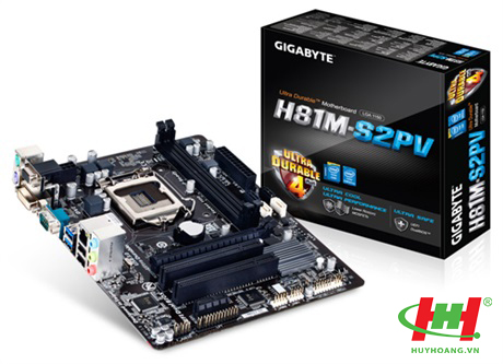 Mainboard Gigabyte H81M - S2PV