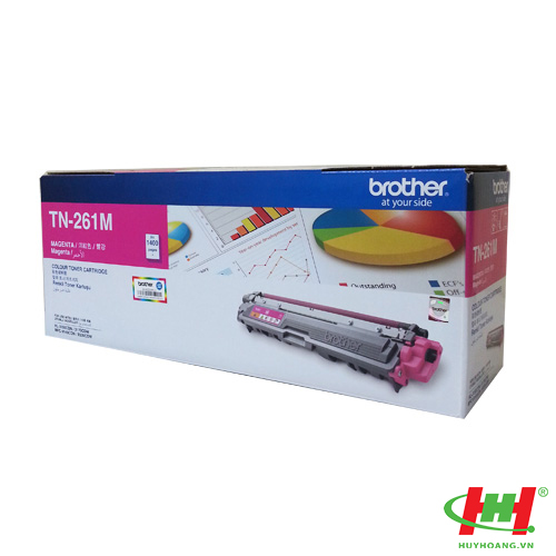 Mực in Brother TN-261 Magenta Toner Cartridge (TN-261M)