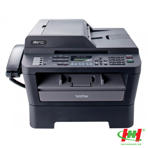 Máy in laser đa năng Brother MFC-7470D (in 2 mặt,  scan,  copy,  fax)