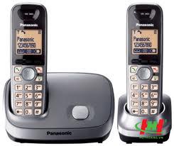 "Panasonic KX-TG6512 (2 tay con): ""New"""