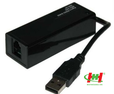 External USB Modem Fax 56k (Thiết bị gửi và nhận fax bằng PC)