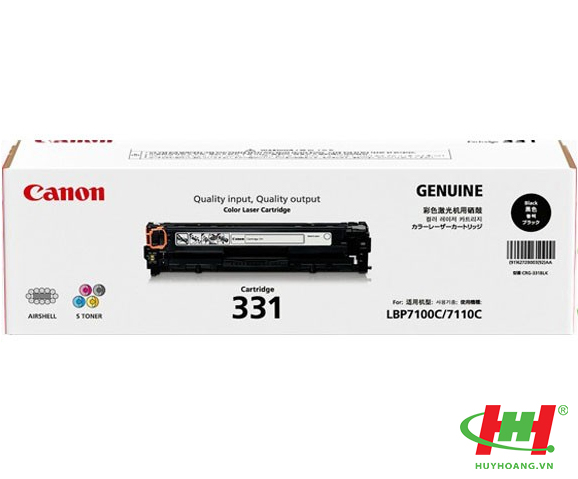 Mực in Canon Cartridge 331BK Black