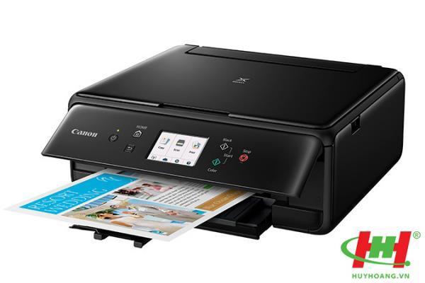 Máy in màu liên tục Canon Pixma TS6120 (5 màu,  in,  scan,  copy,  wifi,  Bluetooth)