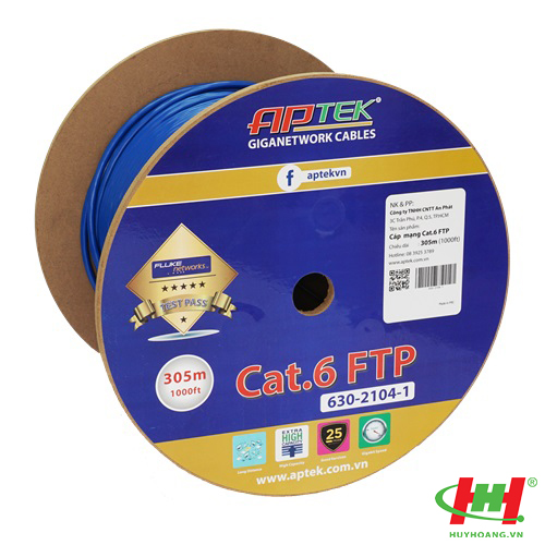 Cáp mạng APTEK CAT.6 FTP 305m (630-2104-1)