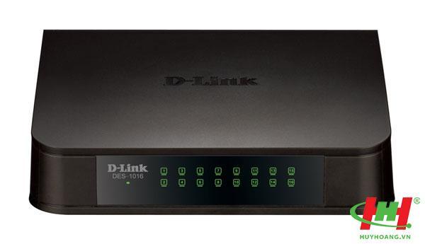 Bộ chia mạng Fast Ethernet 16 cổng D-link DES-1016A