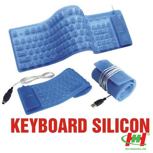 Bàn phím Silicon dẻo cổng USB