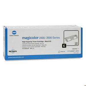Mực in laser màu Konica Minolta Magicolor 2400w 2500W Đen -1710587-004