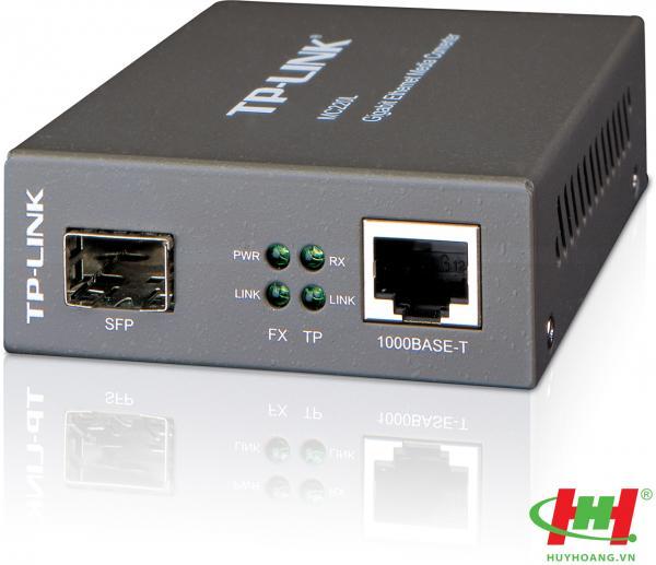 Bộ chuyển đổi điện quang Gigabit SFP Media Converter TP-Link MC220L