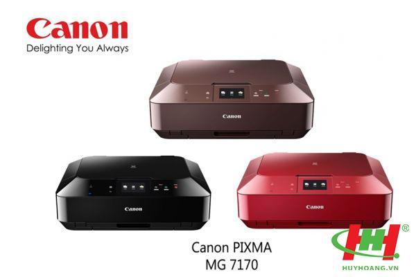 Máy in liên tục Canon Pixma MG7170 (In,  scan,  copy,  Wifi)