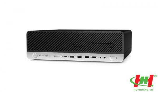 Máy tính để bàn HP EliteDesk 800 G5 Small Form Factor 7YX69PA,  Core i5-9500, 8GB RAM DDR4, 256GB SSD