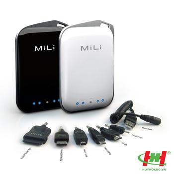 Pin ngoài cho điện thoại,  iPhone,  MiLi Power Crystal (HB-A10)