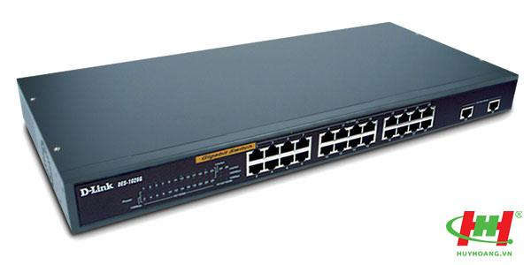 Switch 24 Port DLink DES-1026G (2 port RJ45 Gigabit)