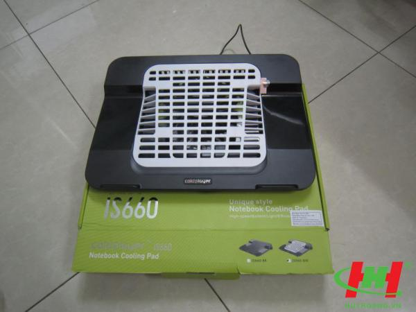 Đế quạt làm mát laptop IS660 Cooling Pad