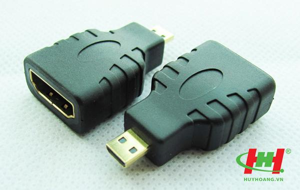 Đầu chuyển Micro HDMI sang HDMI,  Micro HDMI to HDMI
