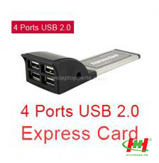 Card PCMCIA Express to 4 USB