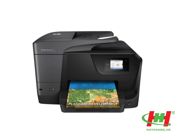 May in HP OfficeJet Pro AIO Printer 8710 (D9L18A)(copy, scan, fax, In Wifi, in 2 Mat Tu Dong) -1