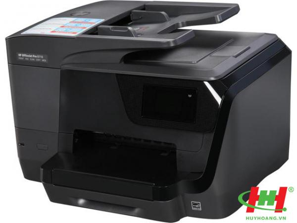Máy in màu HP OfficeJet Pro 8710  (in 2 mặt A4,  copy,  scan,  fax,  Wifi)