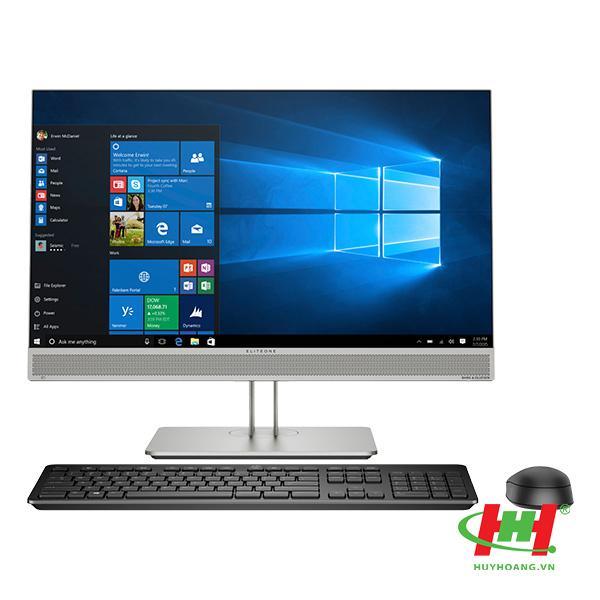 """Máy tính để bàn HP ProOne 400 G5 TOUCH AIO,  Core i3-9100T(3.10 GHz, 6MB), 4GB RAM DDR4, 1TB HDD, DVDRW, Intel UHD Graphics, 23.8""""FHD, Webcam, Wlan ac +BT, USB Keyboard & Mouse, Win 10 Home 64, 1Year,  China_8GB61PA"""