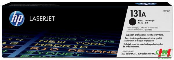 Mực in laser màu HP CF210A (HP 131A) Đen