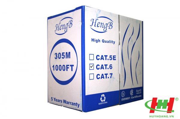 Cáp mạng HengB Cat6E FTP chống nhiễu