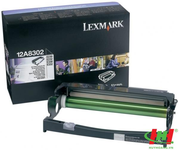 Drum máy in lexmark E230,  Drum Lexmark 12A8302