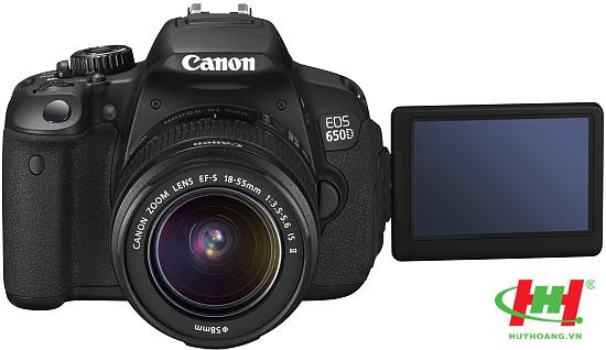 Máy chụp hình KTS chuyên nghiệp Canon EOS 650D Kit (EF S18-55IS)