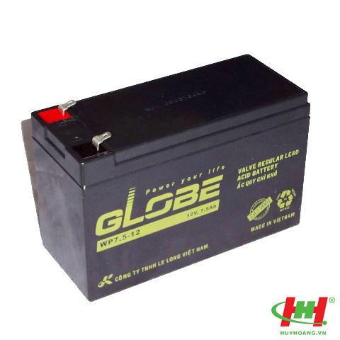 Bình ắc quy Globe 12V 7.5Ah (WP7.5-12)
