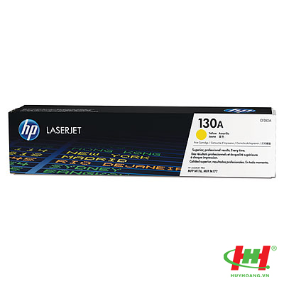 Mực in laser màu HP CF352A (HP 130A) Vàng