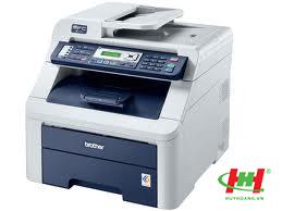 Máy in laser màu đa năng Brother MFC-9120CN (In qua mạng,  Copy,  Scan,  Fax)