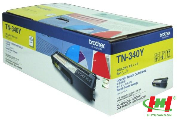 Mực in Brother TN-340 Yellow Toner Cartridge (TN-340Y)
