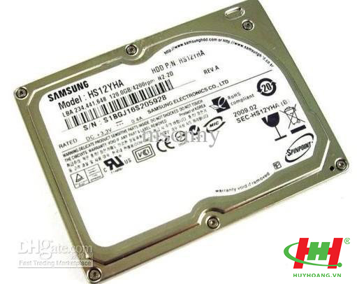 Ổ cứng laptop - HDD Notebook 80Gb Samsung Pata ZIF (1.8)