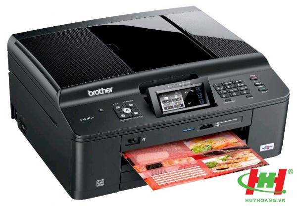 Máy in phun màu Brother MFC-J625DW (in thẻ nhớ,  scan,  fax pc,  copy)