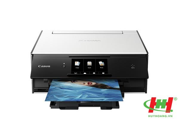 Máy in màu liên tục Canon Pixma TS9020 (6 màu,  in,  scan,  copy,  wifi )