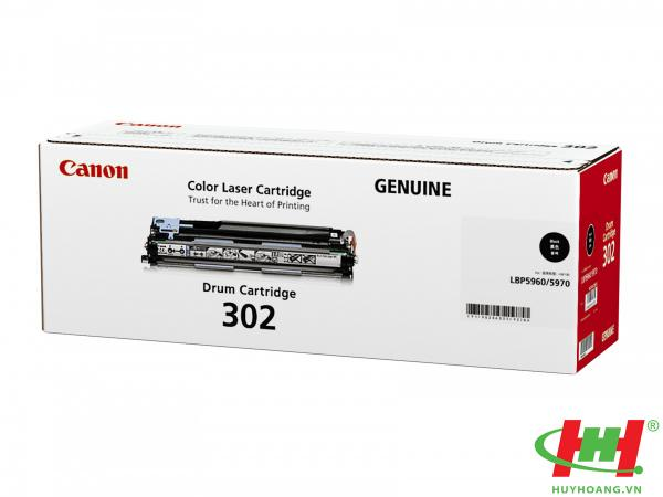 Drum Canon Cartridge-302Bk Đen